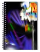 R Eight Spiral Notebook