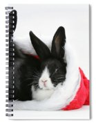 Rabbits In Hat Spiral Notebook