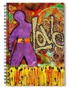 Race 4 Love Spiral Notebook