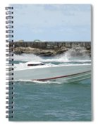 Race Boat Spiral Notebook