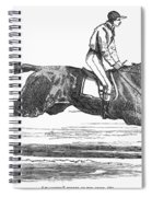 Racehorse, 1856 Spiral Notebook