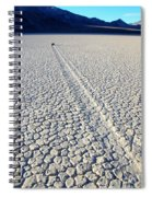 Racetrack Death Valley Trail Of Mystery Spiral Notebook