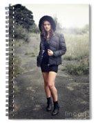 Rachel9 Spiral Notebook