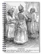 Racial Caricature, 1886 Spiral Notebook