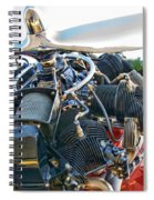 Radial  Spiral Notebook