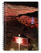 Radiator Racers - Cars Land - Disneyland Spiral Notebook