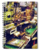 Radio Room Spiral Notebook