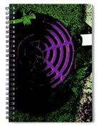 Radioactive Drain Spiral Notebook