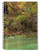 Radovna River In Vintgar Gorge Slovenia Spiral Notebook