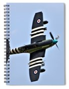 Raf Faircy Firefly Spiral Notebook