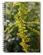 Rag Weed Tendril Spiral Notebook
