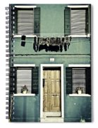 rags in Venice Spiral Notebook