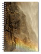 Rainbow On The Rocks Spiral Notebook