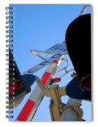 Rail Cro Spiral Notebook