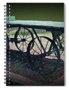 Rail Road Wagon Spiral Notebook