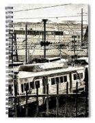 Rail Yard Blues Spiral Notebook