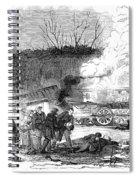 Railroad Accident, 1853 Spiral Notebook