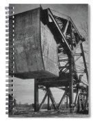 Railroad Bridge 10615b Spiral Notebook