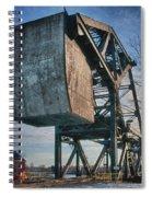 Railroad Bridge 10615c Spiral Notebook
