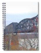 Railroad Bridge  Spiral Notebook