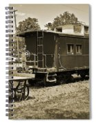 Railroad Car And Wagon Spiral Notebook