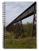 Railroad High Bridge 3 Spiral Notebook