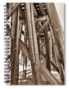 Railroad Trussel Spiral Notebook