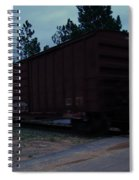 Rails Spiral Notebook