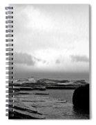 Rain And Storm Spiral Notebook