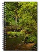 Rain Forest Bridge Spiral Notebook