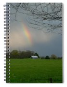 Rainbow After The Rain Spiral Notebook