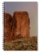 Rainbow And Red Rock Spiral Notebook