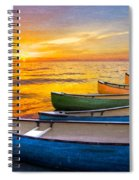 Rainbow Armada Spiral Notebook