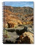 Rainbow Canyon Death Valley Spiral Notebook