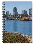 Rainbow Harbor Spiral Notebook