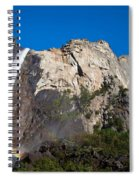 Rainbow On Bridalveil Fall Spiral Notebook