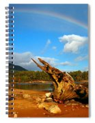 Rainbow Over Affric Spiral Notebook