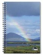 Rainbow Over Mountains, Ballinskelligs Spiral Notebook