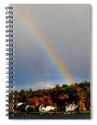 Rainbow Over Winnepesaukee Spiral Notebook