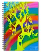 Rainbow Roots Spiral Notebook