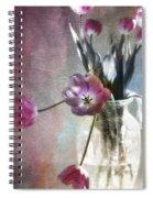 Rainbow Tulips Spiral Notebook