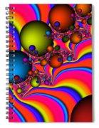 Rainbow Universe Spiral Notebook