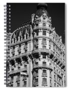 Rainbows And Architecture In Black And White Spiral Notebook