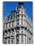 Rainbows And Architecture Spiral Notebook