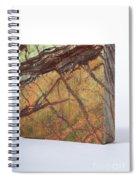 Rainforest Green Marble Spiral Notebook