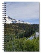 Rainier Journey Spiral Notebook