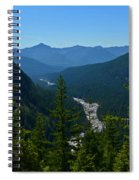 Rainier Valley Spiral Notebook