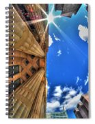 Raining Rays Spiral Notebook