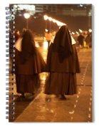 Rainy Night Nuns Spiral Notebook