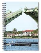 Raised Bridge Spiral Notebook